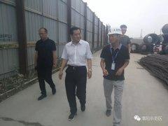 宋伯迅专题调研滨河商业风情街项目