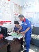 招商局到加油站督导安全生产工作