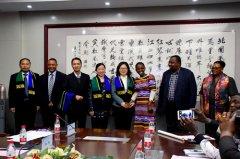 """""""汉语桥―坦桑尼亚教育代表团""""访豫之旅总结交流会举行"""