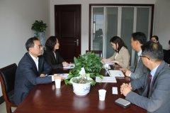 省教育厅副厅长尹洪斌会见韩国仁荷大学金泰胜教授一行