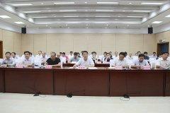 """市长刘尚进收听收看中央环保督察""""回头看""""整改工作推进电视电话会议"""