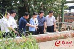 吴海燕调研督导环境污染防治工作