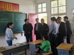 省教育厅副厅长尹洪斌到光山县调研教育脱贫攻坚工作
