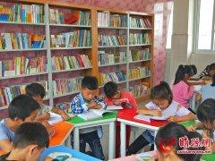 """团县委打造""""心连心""""希望书屋 凝聚爱与希望"""