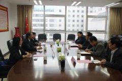 省教育厅厅长朱清孟会见香港特区政府驻河南联络处主任刘锦泉一行