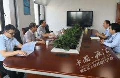 刘少宏在上海拜访企业
