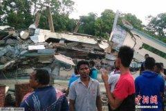 印尼6.5级强震造成至少20死40伤 死者中有儿童