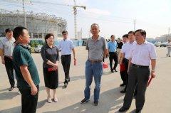 省住建厅副厅长郭凤春到我县调研百城建设提质工程工作