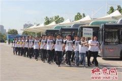 郑州公交启动防汛预案 保证市民汛期安全出行