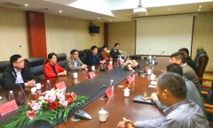 区政府副区长于宏带队赴东方神话旅游发展有限公司招商考察