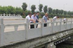 区长王凯杰实地督导水污染防治工作
