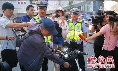 郑州多警种联合在火车站及周边区域开展道路交通秩序综合整治行动