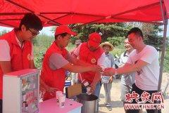 郑州公交设置爱心驿站 免费提供绿豆汤、防暑药品