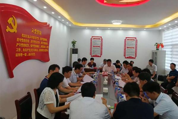 民建河南省委副主委张晓林一行到我县调研脱贫攻坚工作