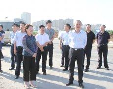 扶沟县考察组来我市考察学习城市建设和管理工作