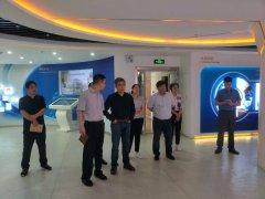 微软加速器北京公司到开发区调研考察