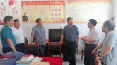 市委常委、常务副市长吴祖明到我县调研脱贫攻坚工作
