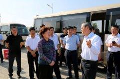 县长张颖波带队到鹿邑、沈丘、项城考察学习