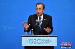 潘基文关注朴槿惠遭弹劾:相信韩国宪法体制