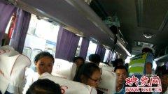 开封高速交警查获超员大客车 超员44人全是儿童