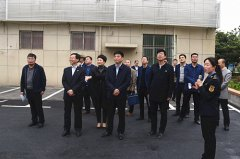 区长李新伟带队考察汝州市城建工作