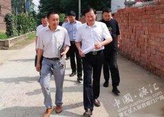 刘学锋带领人大代表开展助力脱贫攻坚活动