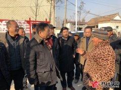 国务院参事忽培元到西姜寨乡宣讲党的十九大精神