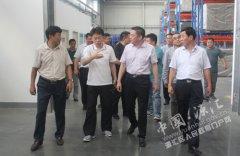 区长王凯杰带队调研重点项目建设