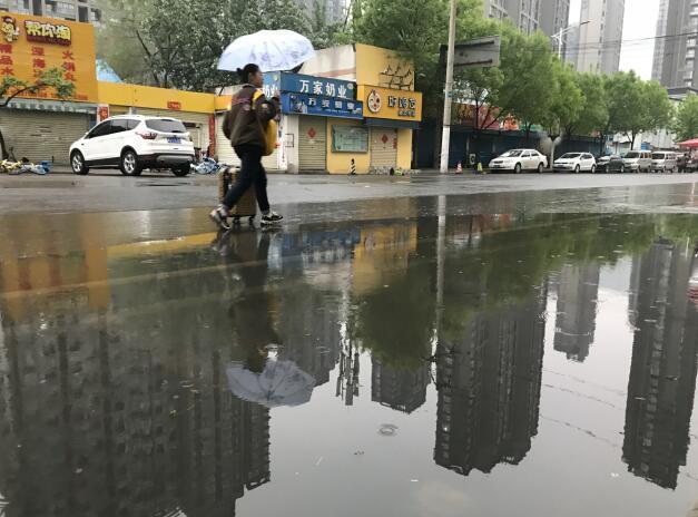 清明时节家家雨!河南今日多地有雨 局地中雨伴雷电