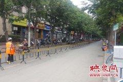 郑州西站北街因改造养护半幅封闭60天 请市民注意绕行