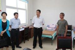 市长刘尚进到脱贫攻坚联系乡镇临颍县窝城镇调研脱贫攻坚工作