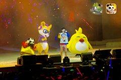 许嵩演唱会精彩回顾 《神武2》手游萌宠嵩鼠现场应援