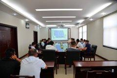 中鲜冷链股份有限公司董事长刘晓红一行到我县洽谈物流项目