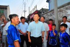 县长马同和看望慰问河南省第八届少数民族传统体育运动会获奖运动员