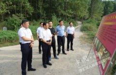 市委常委、组织部部长李思杰到我区督导防汛工作
