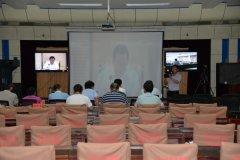 我县收听收看2018中国(郑州)产业转移系列对接活动筹备动员电视电话会议