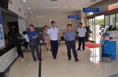 开发区工委副书记刘文合 到税务局调研督导税收收入工作