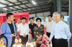 最高人民法院纪检监察组长刘海泉到我县调研指导脱贫攻坚工作