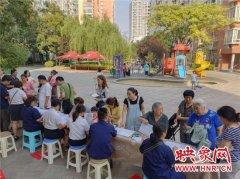 """郑州供暖""""阳光服务""""进社区 现场解答市民供暖问题"""