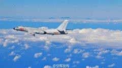 空军回应战机绕飞台岛:合法合理 仍按既定计划