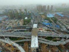 """郑州农业路高架与京广快速路重新""""牵手"""""""