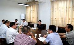 县长张颖波主持召开百城提质专题会议