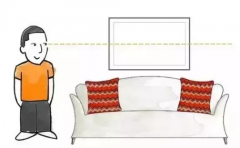 家里的画如何挂最好?超强实用挂法来教你