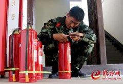 睢县首个文物保护微型消防站建立