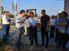 王拥军调研汾泉河湿地公园建设筹备工作进展情况