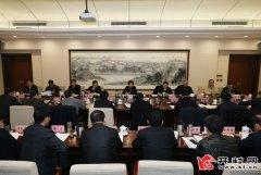侯红主持市委全面深化改革领导小组第八次会议强调全面深化改革 释放发展活力