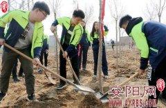 开展植树造林 建设绿色安阳