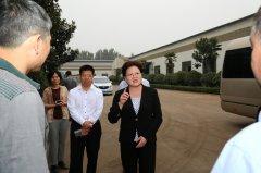 县长张颖波等调研项目建设进展情况