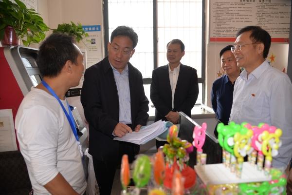 最高法行装局局长李成玉到宁陵县调研基层党建和脱贫攻坚工作