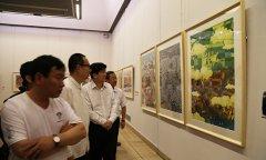 舞阳农民画亮相中国美术馆